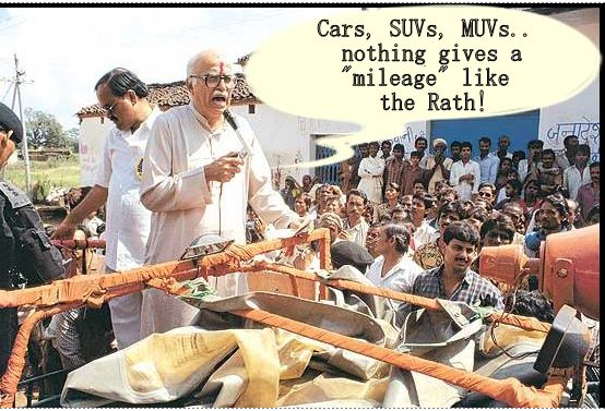 advani-corruption-rath-yatra-cartoon