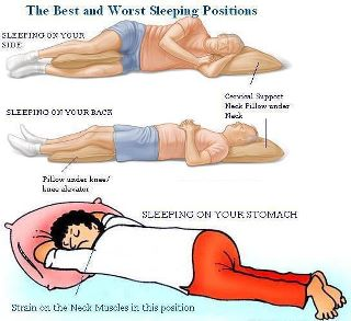 healthy sleeping position
