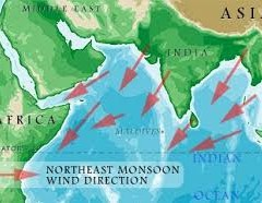 WHY DO WE GET LESS RAIN DURING NORTHEAST MONSOON THAN IN SOUTHWEST MONSOON?