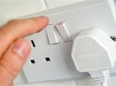 THE ELECTRIC PLUG POINT, IF LEFT WITHOUT ANY CHARGER, WILL THERE BE CONSUMPTION OF CURRENT