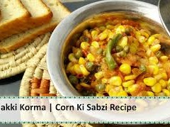 MAIZE AND VEGETABLE MIX- RECIPE