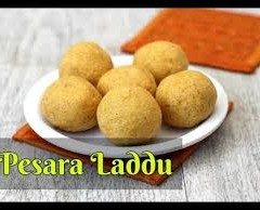 PESARAT LADDU- RECIPE