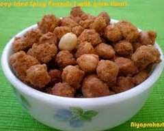 GROUNDNUT GREEZEPEAS- RECIPE