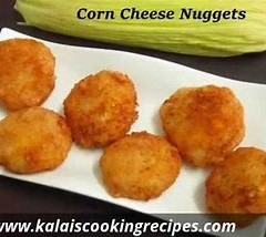 SWEETCORN CHEESE NUGGETS – RECIPE