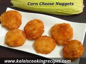 SWEETCORN CHEESE NUCKETS