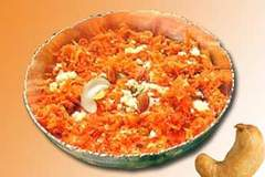 CARROT  HALWA- RECIPE