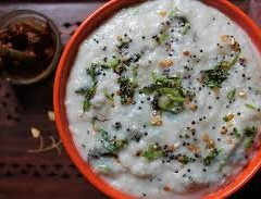 PEARL MILLET CURD RICE- RECIPE
