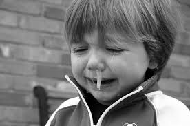 -WHEN YOU CRY, YOU HAVE RUNNY NOSE