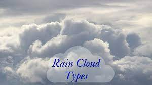 rain from clouds